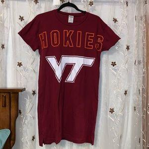 PINK VT Hokies Sleep Shirt - NWT